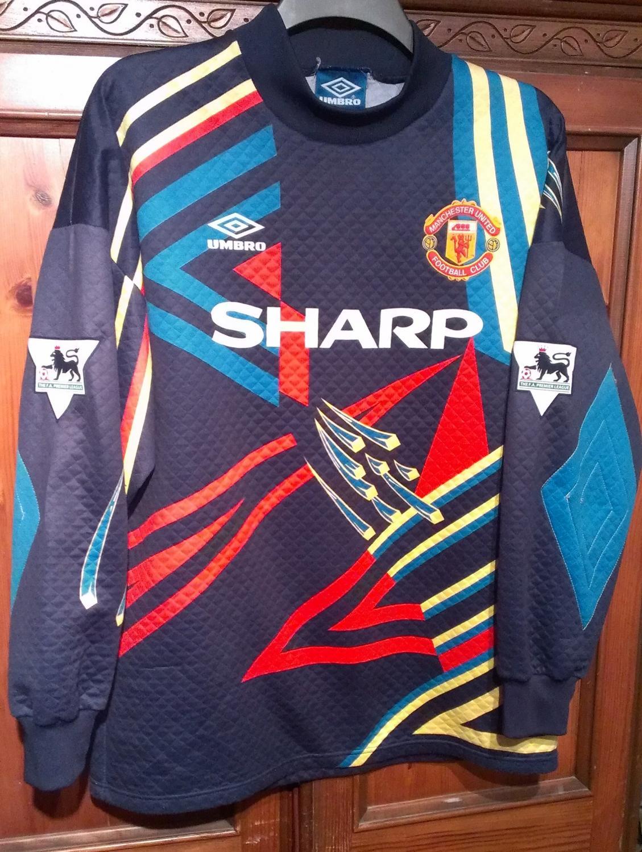 Wordplayzavi Kids Manchester United Goalkeeper Kit