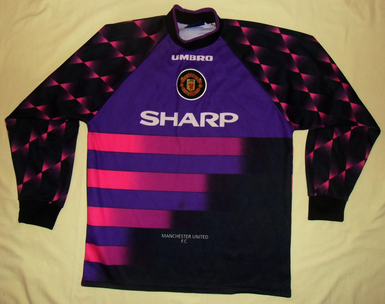 best service 0dfc7 4cf09 Manchester United Goalkeeper fotbollströja 1996 - 1997 ...