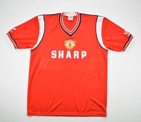 info for 5a0e6 9ce4b Manchester United Home baju bolasepak 1984 - 1986.