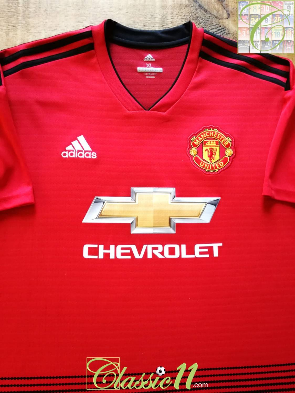 competitive price 7952f 76f4b New Season Manchester United Home football shirt 2018 - 2019 ...