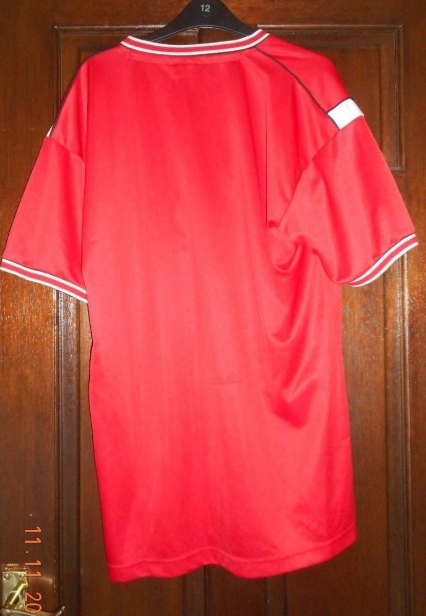 manchester united retro replicas camiseta de futbol 1984 1986 sponsored by sharp old football shirts