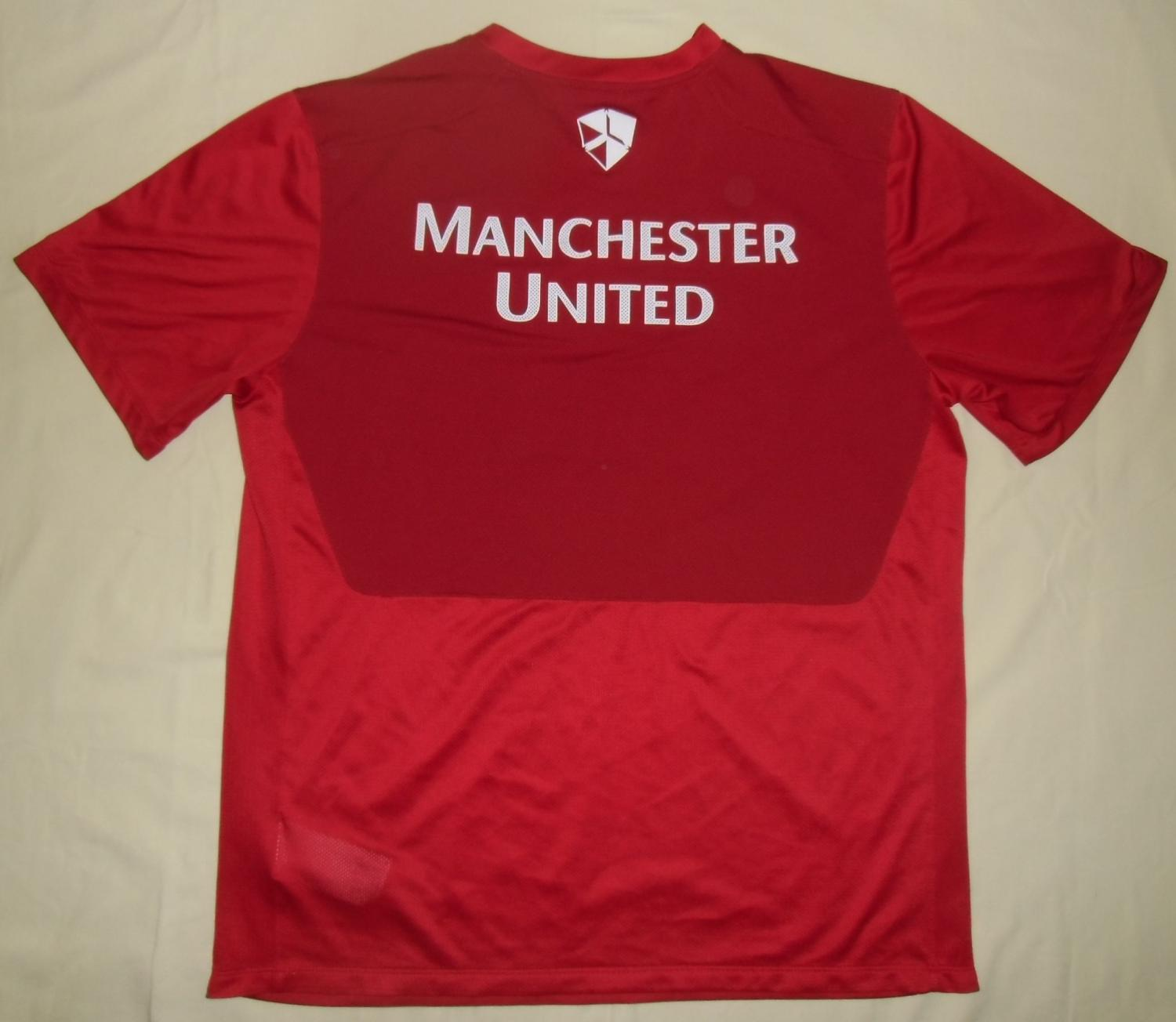 manchester united training leisure football shirt 2012 2013. Black Bedroom Furniture Sets. Home Design Ideas