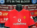 Manchester United Home football shirt 2000 - 2002