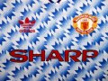 Manchester United Away football shirt 1990 - 1992