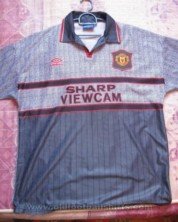 Manchester United Away football shirt 1995 - 1996