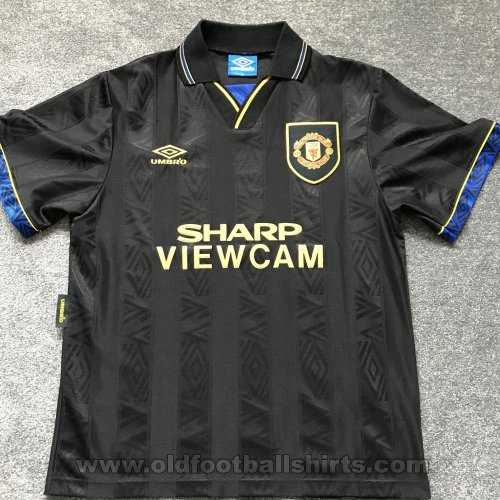 Manchester United Away football shirt 1993 - 1995