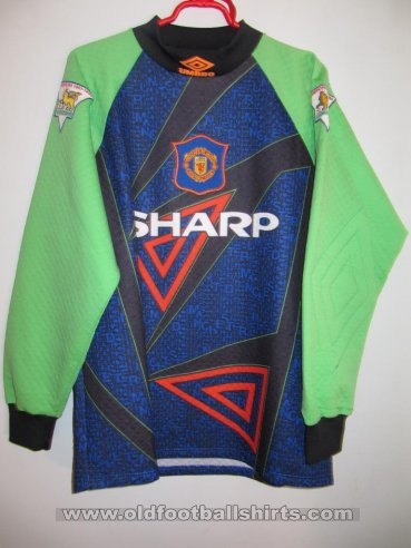 Manchester United Goalkeeper football shirt 1994 - 1996