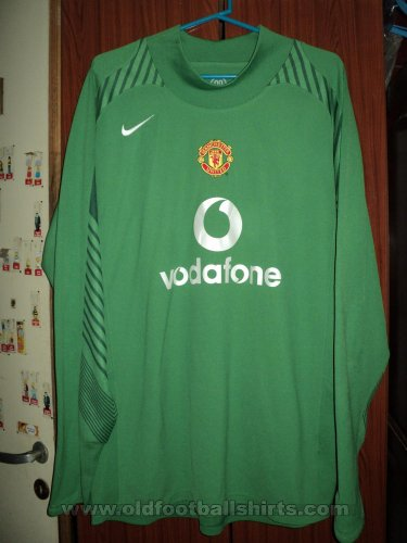 Manchester United Goalkeeper football shirt 2004 - 2006