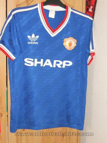 Manchester United Third football shirt 1986 - 1988