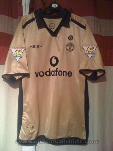 Manchester United Third football shirt 2001 - 2002