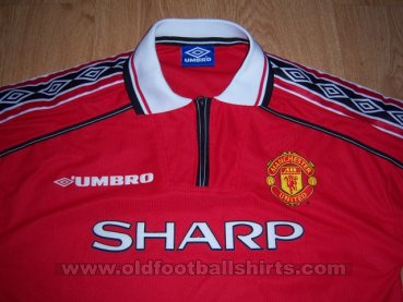 Manchester United Home football shirt 1998 - 2000