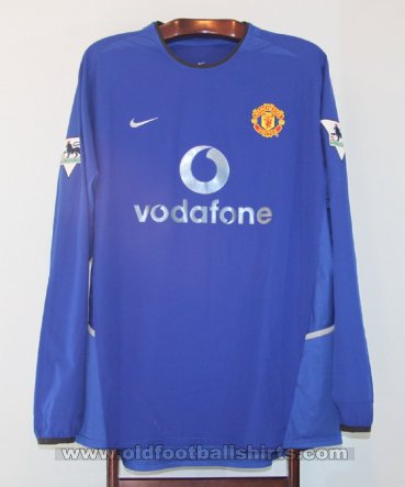 Manchester United Third football shirt 2002 - 2003