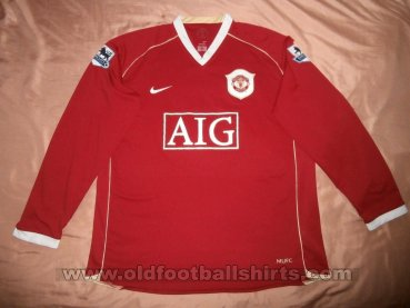 Manchester United Home football shirt 2006 - 2007