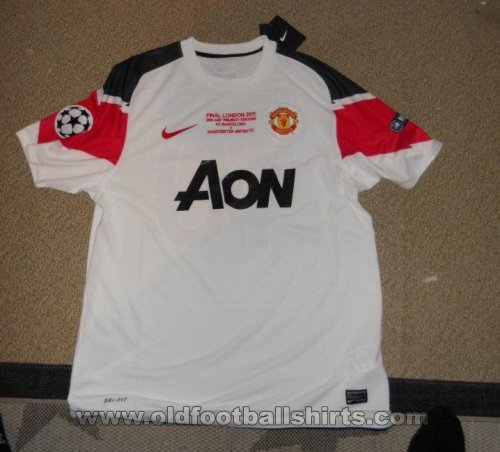 Manchester United Away football shirt 2010 - 2011