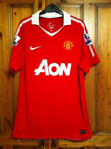 Manchester United Thuis  voetbalshirt  2010 - 2011