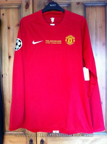 Manchester United Cup Shirt football shirt 2008