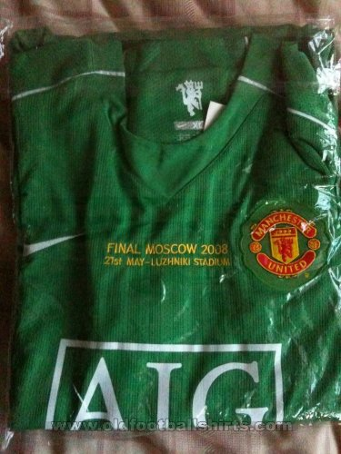 Manchester United Goalkeeper football shirt 2008
