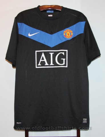 Manchester United Away football shirt 2009 - 2010