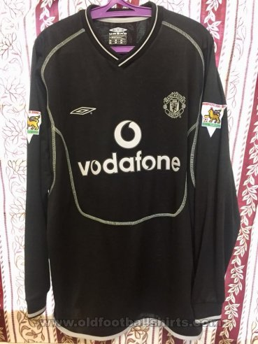 Manchester United Goalkeeper football shirt 2000 - 2002