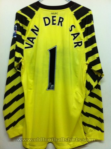 Manchester United Goalkeeper football shirt 2010 - 2011