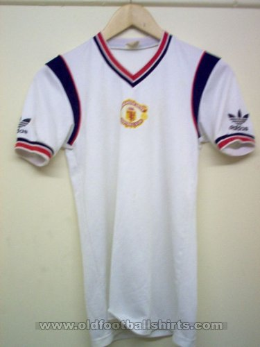 Manchester United Away football shirt 1984 - 1986