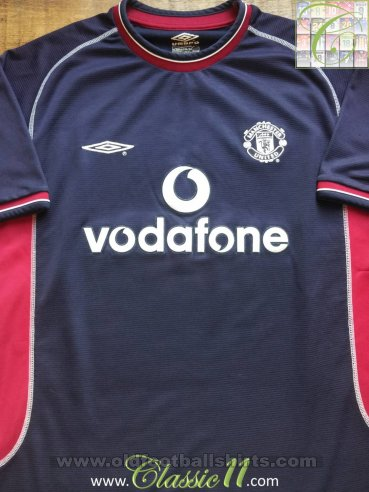 Manchester United Third football shirt 2000 - 2001