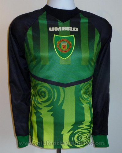 Manchester United Goalkeeper football shirt 1997 - 1998