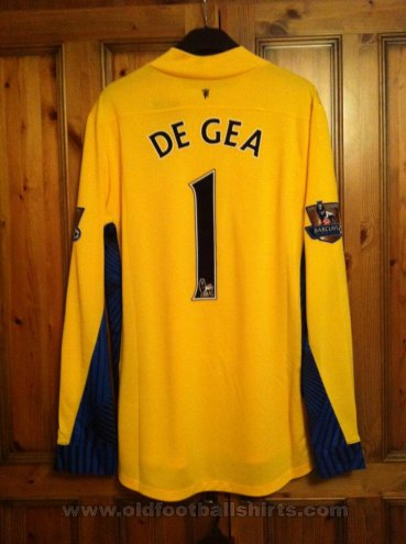 Manchester United Goalkeeper football shirt 2011 - 2012