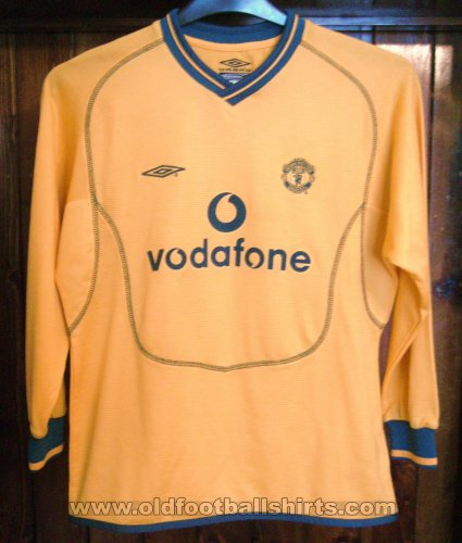 Manchester United Goalkeeper football shirt 2000 - 2001