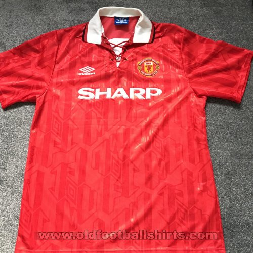 Manchester United Home football shirt 1992 - 1994