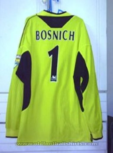 Manchester United Goalkeeper football shirt 1999 - 2000