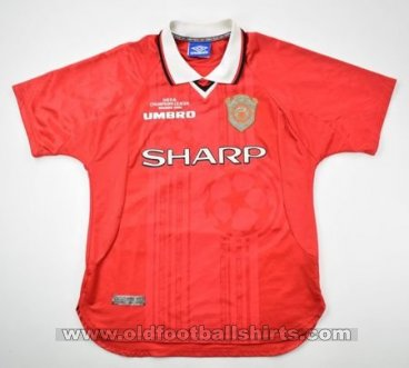 Manchester United Cup Shirt football shirt 1997 - 2000