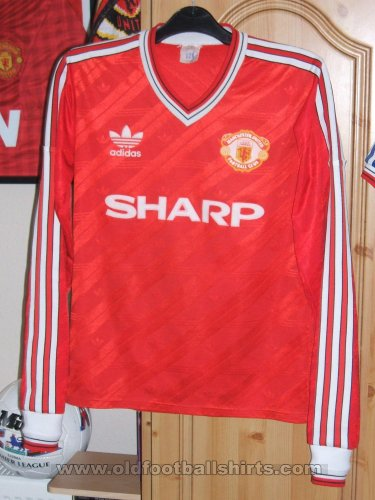 Manchester United Home football shirt 1986 - 1988