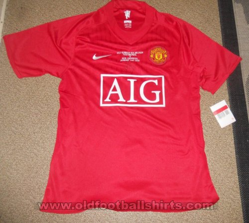 Manchester United Special football shirt 2008