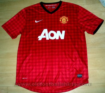Manchester United Home football shirt 2012 - 2013