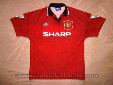 b3f74eb44c6 Manchester United Home football shirt 1994 - 1995. Sponsored by Sharp