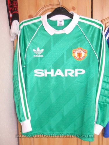 Manchester United Goalkeeper football shirt 1988 - 1990