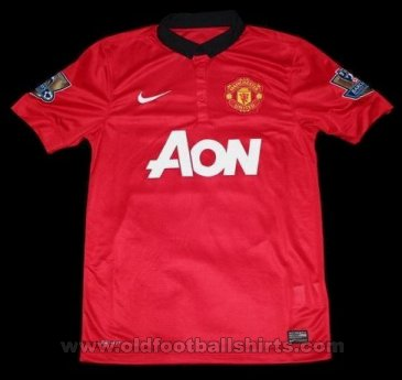 Manchester United Home football shirt 2013 - 2014
