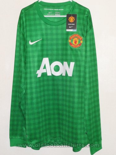 Manchester United Goalkeeper football shirt 2012 - 2013