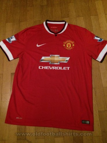Manchester United Home football shirt 2014 - 2015