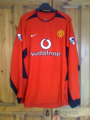 Manchester United Home football shirt 2002 - 2004