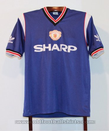 Manchester United Third football shirt 1984 - 1986