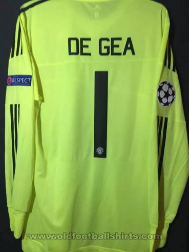Manchester United Goalkeeper football shirt 2015 - 2016