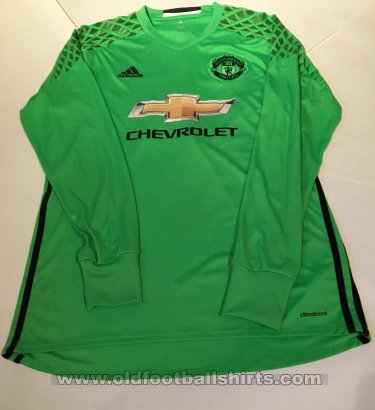 Manchester United Goalkeeper football shirt 2016 - 2017
