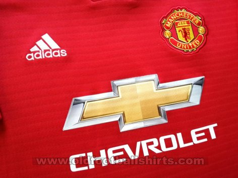 Manchester United Home football shirt 2018 - 2019