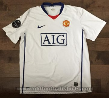 Manchester United Away football shirt 2008 - 2009