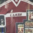 CLASH football shirt 1985 - 1986