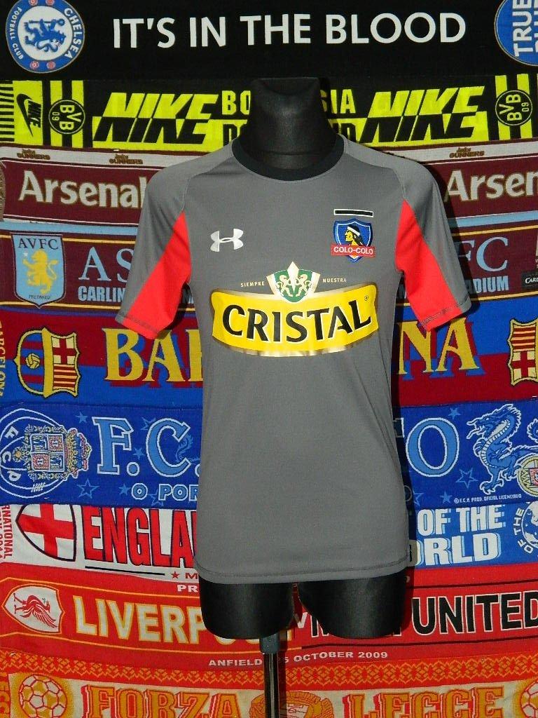 Colo-Colo Third maglia di calcio 2014. Sponsored by Cristal 6e21880c1