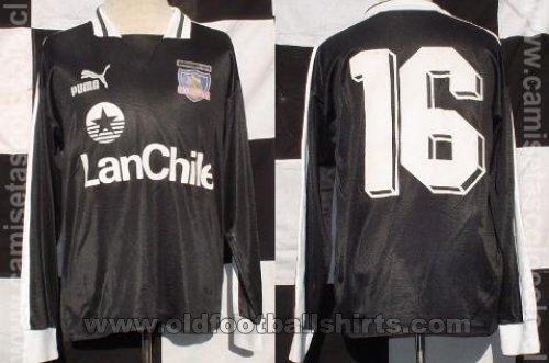 Colo-Colo Away football shirt 1989