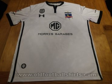 newest e6dce 89516 Colo-Colo Home Fußball-Trikots 2018. Sponsored by MG